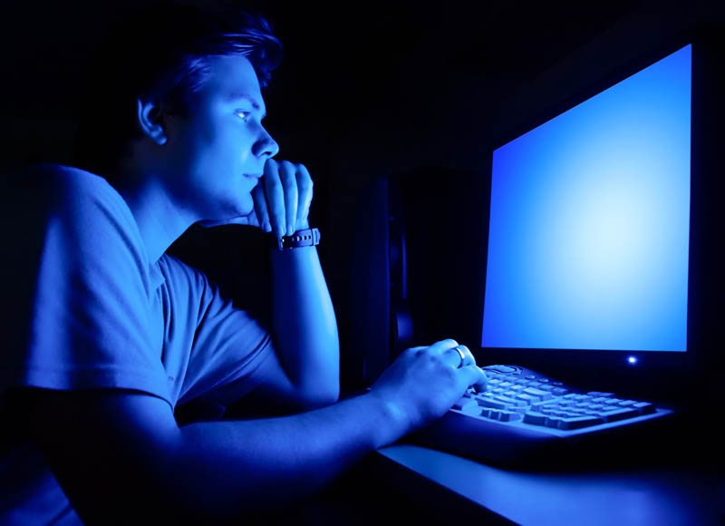 Beware of Blue Light Before Sleep | Brigham Health Hub