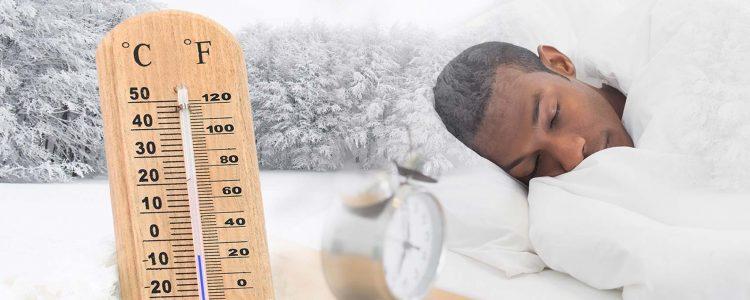 Warum Sie bei kalten Temperaturen besser schlafen