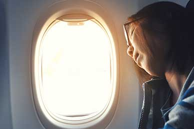 Newly Discovered Group of Cells in the Retina May Someday Offer Treatment for Jet Lag